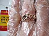 Ажурное Золотое Кольцо 1.93 грамма 21.5 размер ЗОЛОТО 585 пробы, фото 8