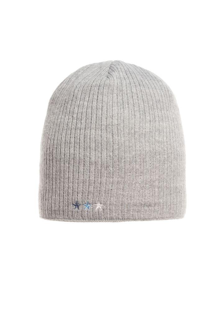 Стильная качественная и практичная вязаная мужская шапка.