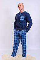 Пижама для парня - подростка, комплект для дома (начес) [Размер: 46, рост: 170]