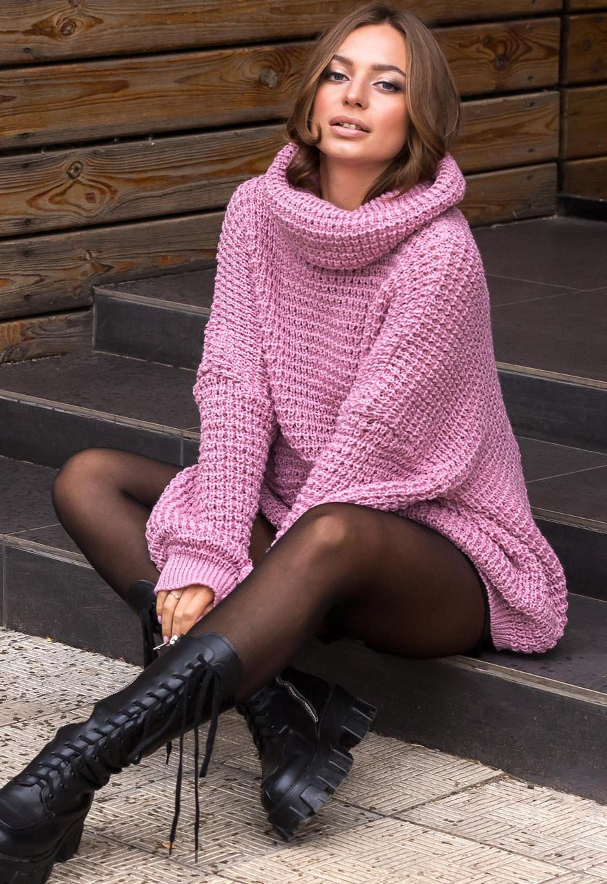 Свитер Guash 2122 46-58 розовый