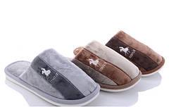Мужские тапки тапочки теплые комнатные для дома меховые Favorite shoes A2