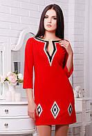 Платье Ким красный, фото 1