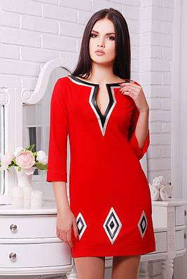Платье Ким красный