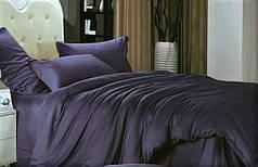 Простынь с наволочками сатин Royal purple ТМ Moonlight 240х250+50х70 2шт