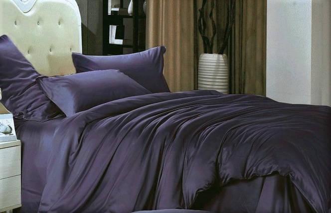 Постельное белье сатин Royal purple ТМ Moonlight Двуспальный, фото 2