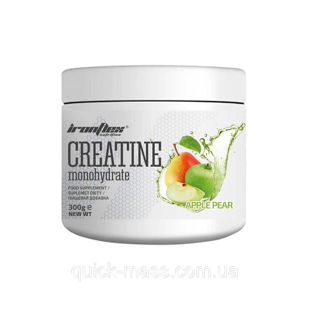 Креатин IronFlex Creatine Monohydrate 300g