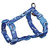 15226 Trixie Шлея Modern Art H-Harness Woof, 50-75см/25мм