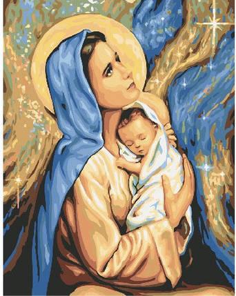 Картина по номерам - Мария и Иисус Brushme 40*50 см. (GX24165), фото 2