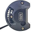 Фара LED прямоугольная 72W (24 диода) 133 мм (широкий луч), фото 3