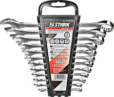 Набор комбинированных ключей Stark 12 шт (6-22 мм), 519001012