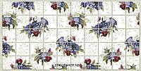 Декоративные Панели ПВХ Плитка фиолетовые цветы