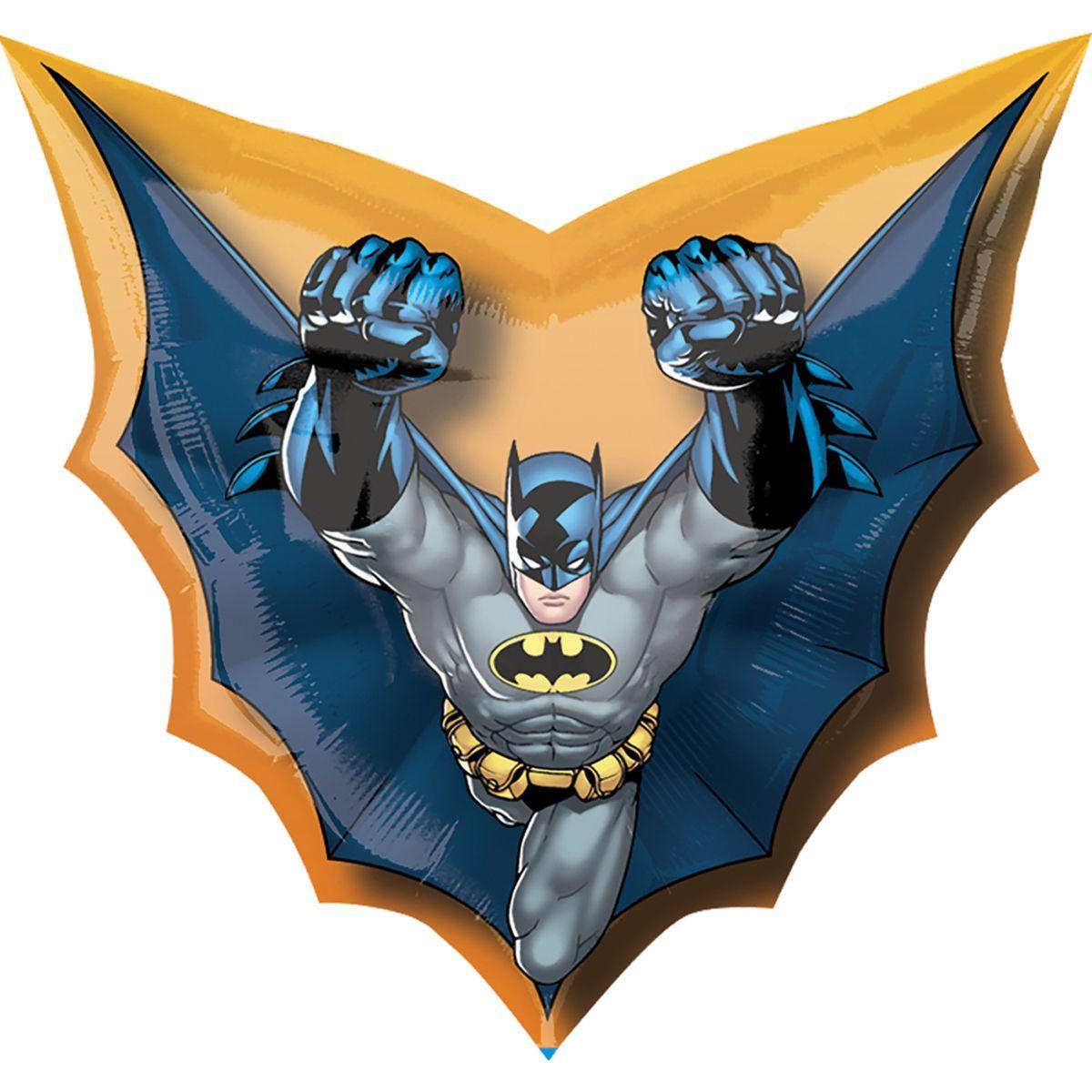 "Кулька 36"" фігура фольгована ""Бетмен, супергерої"" УП шт."