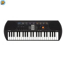 Синтезатор с автоаккомпанементом Casio SA 77 44 мини-клавиши