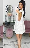 Платье белое в горошек, фото 2