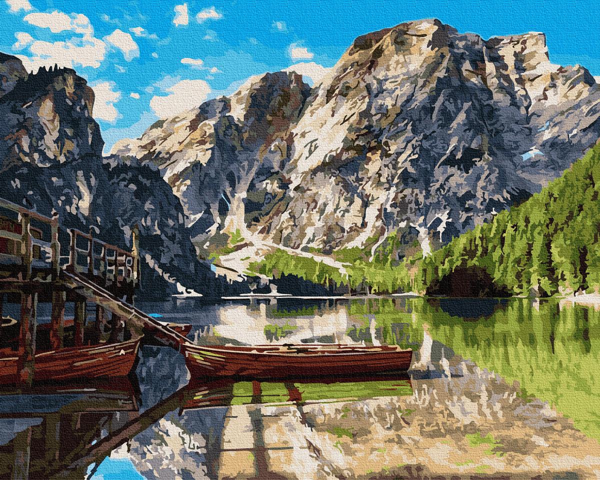 Картина по номерам - Пирс на озере Комо Brushme 40*50 см. (GX26742)