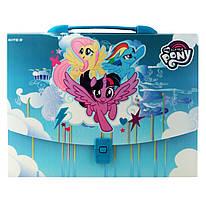 Портфель- коробка А4 Kite My Little Pony пластиковий LP19-209, 40734