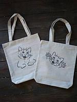 Эко-сумка (шоппер) с рисунком Веселый котенок (548.02)