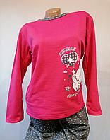 Утепленная женская  пижама, начес. Одежда для дома и сна. Размер М(44-46). Турция, фото 1