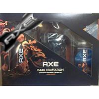 Мужской набор Axe Dark Temptation в коробке
