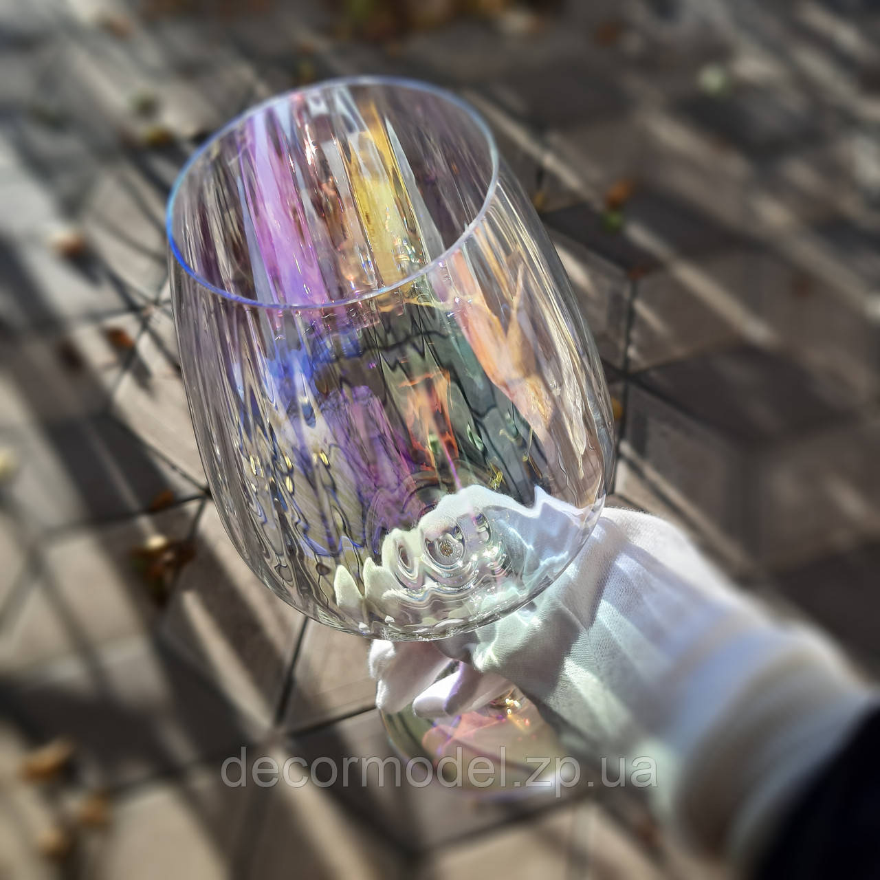 Набор бокалов для вина Rona Favourite optic 570 ml перламутровый