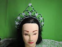 """Святкова корона """"Ялинка"""", зелена"""