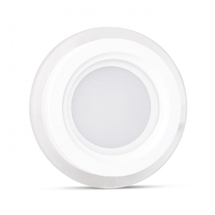 Светодиодный светильник Feron AL2110 25W 5000К стеклянное обрамление встроенный