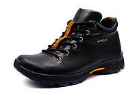 """Ботинки мужские зимние """"GS-comfort"""", кожаные, черные, фото 1"""