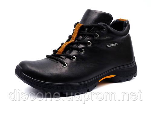 """Ботинки мужские зимние """"GS-comfort"""", кожаные, черные"""