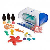 3D Принтер Create Machines 6601 детский ультрафиолетовый для детей ребенка 3д принтер для детей ребенка