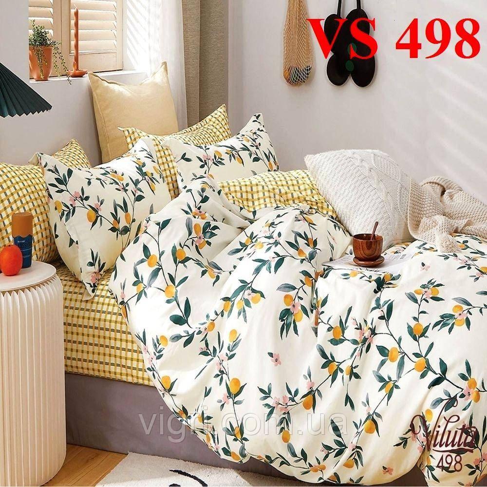Постельное белье евро комплект, сатин, Вилюта «Viluta» VS 498
