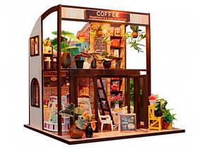 """3D Румбокс Кафе """"Coffee House"""" DIY DollHouse + захисний купол"""