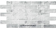 Декоративные Панели ПВХ Кирпич старый серый