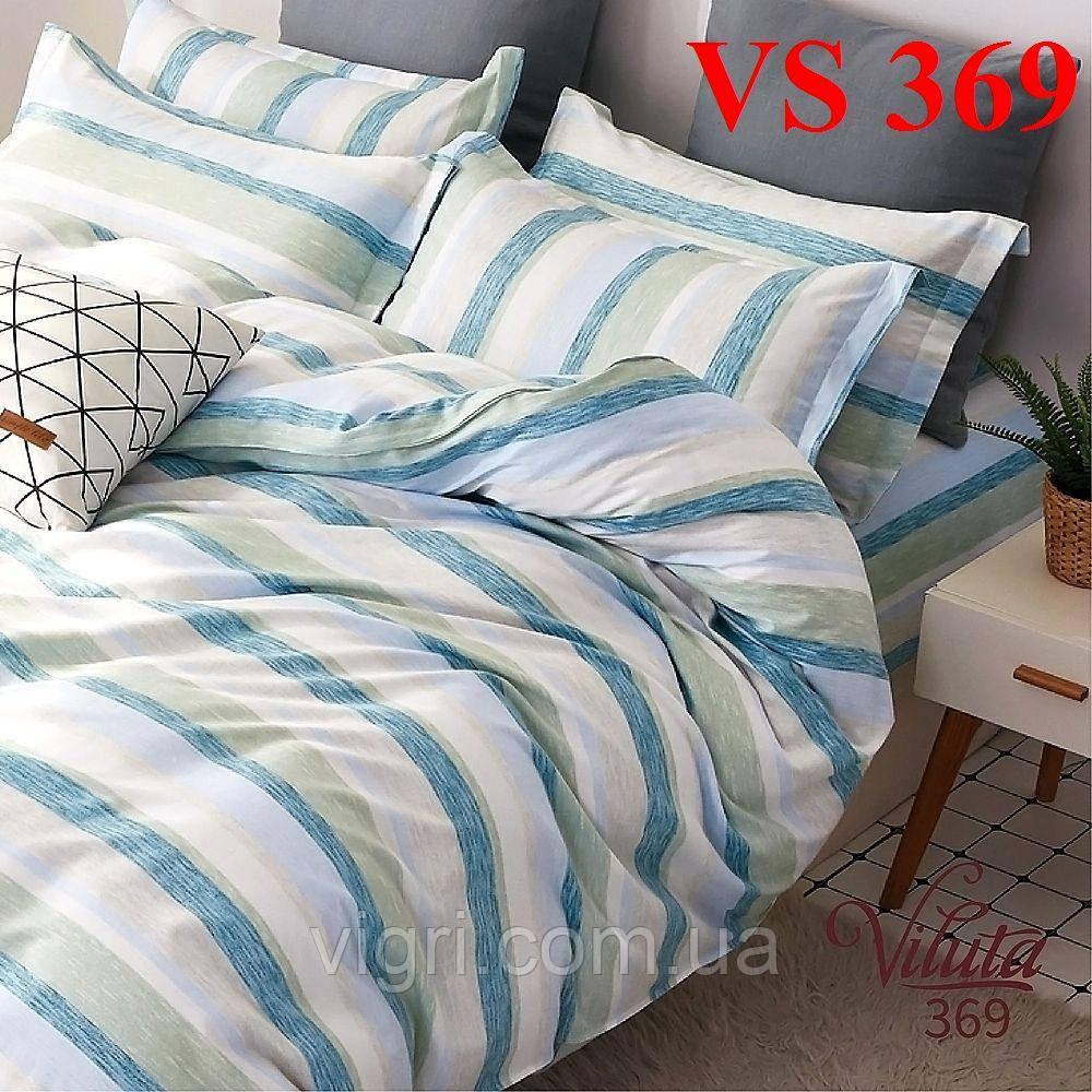 Постільна білизна євро комплект, сатин, Вилюта «Viluta» VS 488