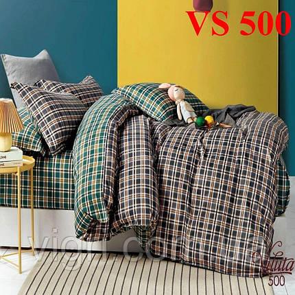 Постельное белье евро комплект, сатин, Вилюта «Viluta» VS 500, фото 2