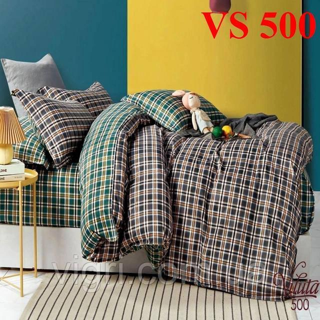 Постельное белье евро комплект, сатин, Вилюта «Viluta» VS 500
