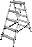 Лестница-стремянка Aloft алюминиевая двухсторонняя, 2*5 ступ., (ALDD5)