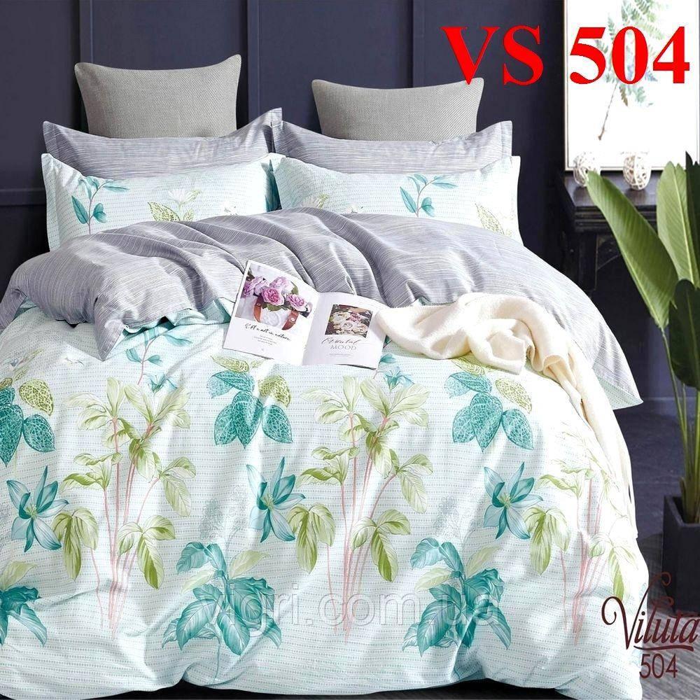 Постельное белье евро комплект, сатин, Вилюта «Viluta» VS 504