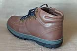 Ботинки мужские зимние Pierre Cardin. Натуральная кожа и мех. (Оригинал). 40 размер, фото 3