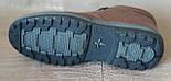 Ботинки мужские зимние Pierre Cardin. Натуральная кожа и мех. (Оригинал). 40 размер, фото 4