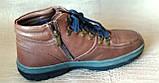 Ботинки мужские зимние Pierre Cardin. Натуральная кожа и мех. (Оригинал). 40 размер, фото 5