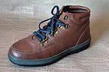 Ботинки мужские зимние Pierre Cardin. Натуральная кожа и мех. (Оригинал). 40 размер, фото 6