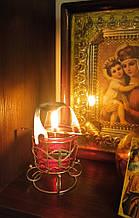 Домашняя кадильница-лампадка для возжигания Ладана