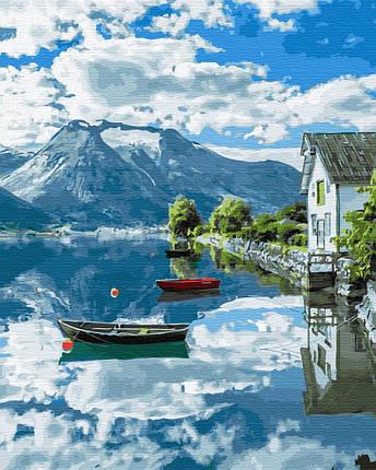 Картина по номерам - Провинция Норвегии Brushme 40*50 см. (GX32309), фото 2