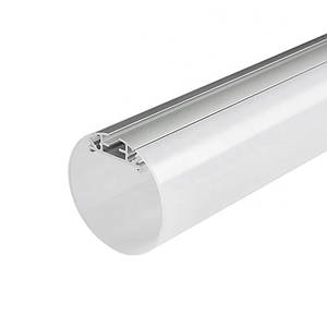 Комплект. Профиль для светодиодной ленты радиальный 60 мм. ЛПР-60 Матовый, Анодированный