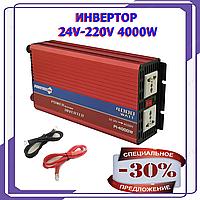 Преобразователь в авто Инвертор PowerOne Plus 24V-220V 4000W Инвертор PowerOne 24в-220в 4000вт+USB (PI-4000W)
