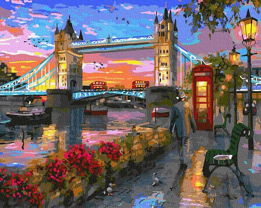 Картина по номерам - Осень в Лондоне Brushme 40*50 см. (GX33314), фото 2