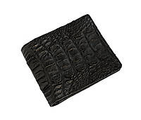 Бумажник мужской Ekzotic Leather из натуральной кожи крокодила Черный (cw 118), фото 1