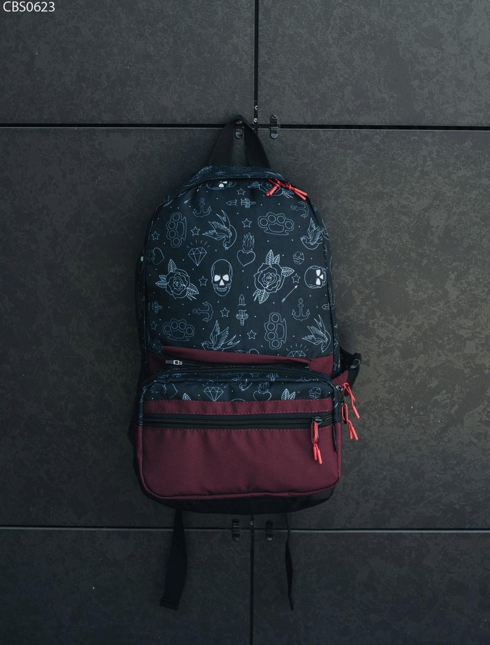 Рюкзак 23L + поясная сумка Staff classic