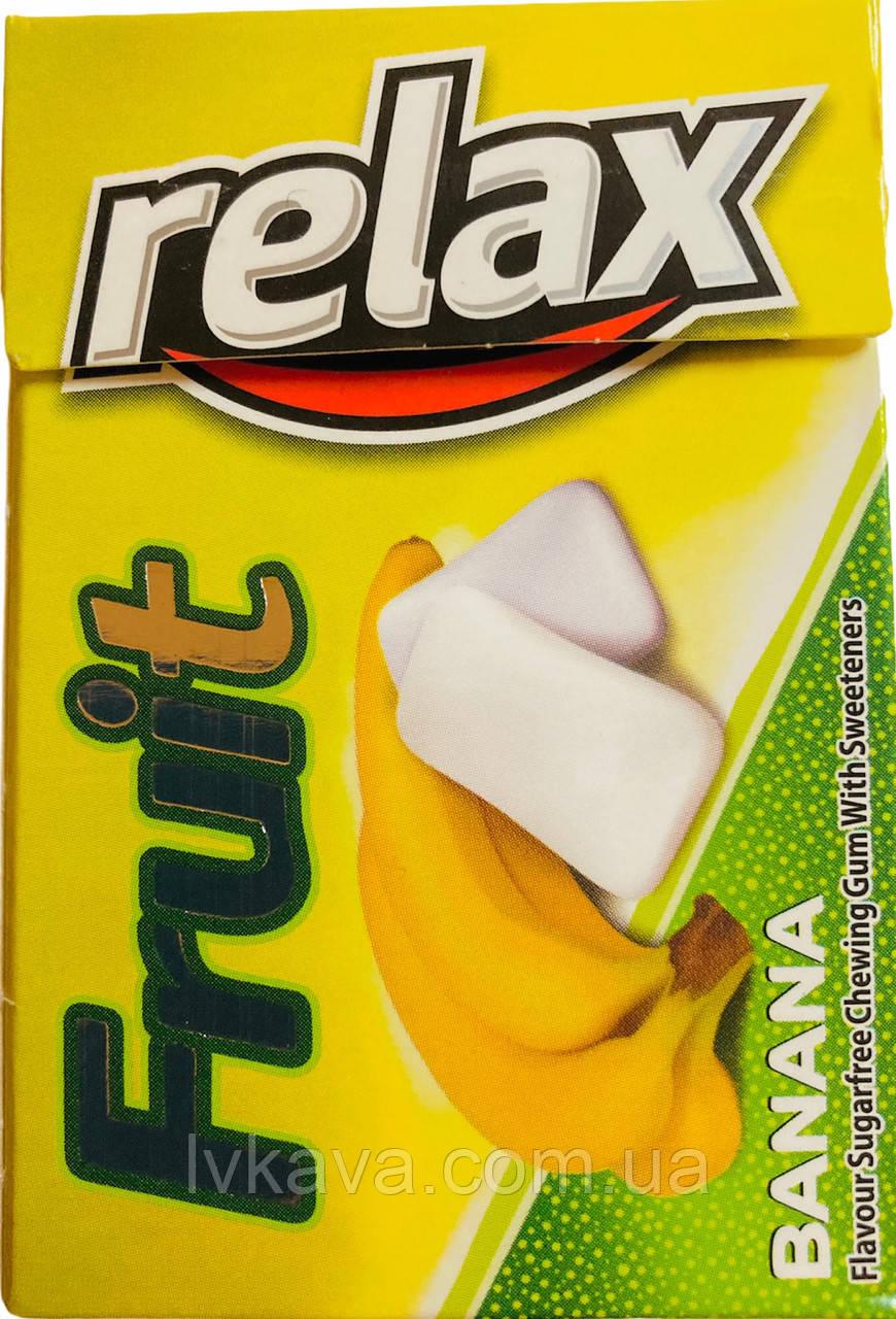 Жевательная резинка  Relax Kent банан , 21 гр