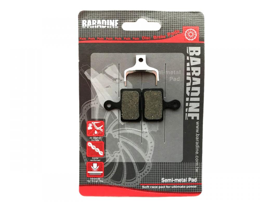 Дисковые тормозные колодки велосипеда Baradine DS-63